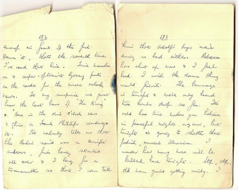 London War Diary: Sunday 17th January 1942 (cont) (3)   London War Diary. Original written pages. 1940   Scoop.it