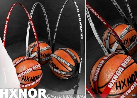 Caged Basketball Bag Group Gift by HXNOR | Teleport Hub - Second Life Freebies | Second Life Freebies | Scoop.it