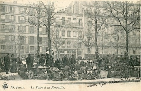 Paris en 1900 – Carte Postale – La Foire à la Ferraille | Cartes Postales Anciennes | GenealoNet | Scoop.it