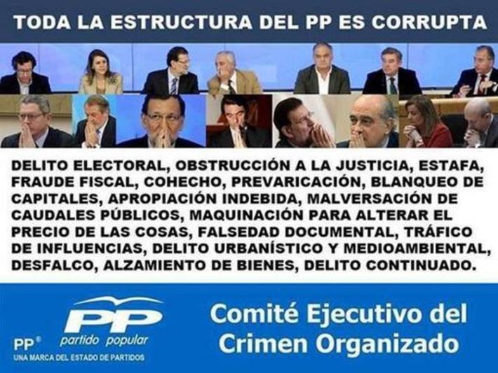 Twitter / Garufa_a: #PeperosLadrones Confiad en ... | Partido Popular, una visión crítica | Scoop.it
