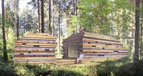 Des stars montantes de l'architecture construisent des cabanes dans le Jura suisse | Mountain huts | Scoop.it