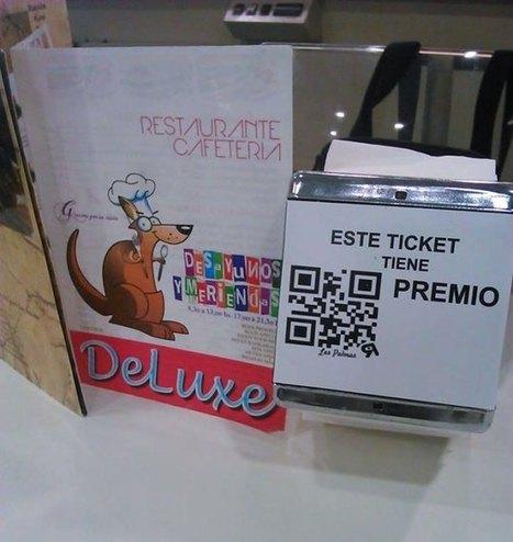 Servilleteros con Premios QR interactúan con los clientes en un restaurante de las Palmas | Rotacode Marketing Mobile | Scoop.it