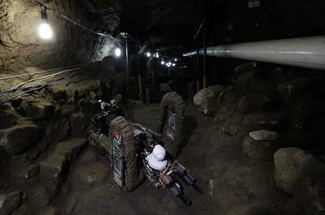 Un mini robot découvre des chambres sous la pyramides de ... | technologie 3ème | Scoop.it