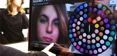 Sephora présente un miroir en réalité augmentée pour tester différents maquillages | Best omnichannel experiences & store-digitalisation | Scoop.it