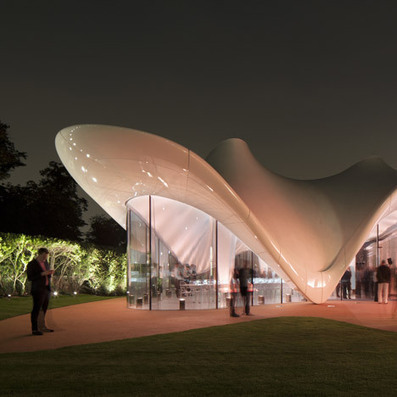 Serpentine Sackler Gallery by Zaha Hadid photographed by Luke Hayes | Architecture and Architectural Jobs | Scoop.it