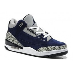 Air Jordan 3 III Suede Navy Blue White Cement | Jordan 28 for sale | Scoop.it