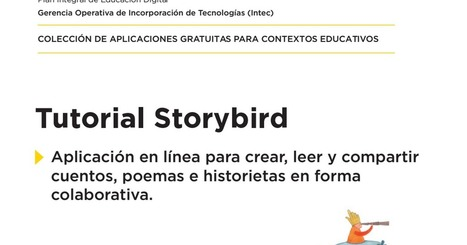 Tutorial Storybird.pdf | Siguiendo a un autor | Scoop.it