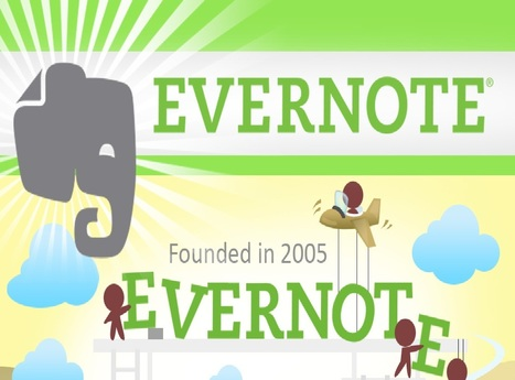 Evernote - An infographic by IOIX Japan | evernote | Scoop.it