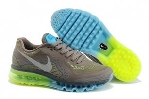 Cheap Cheap Nike Air Max 2014 Mens Green Blue Grey White For Sale Online - SportsYTB.Com | Cheap Nike Air Jordan Shoes,Cheap Nike Sneakers | Scoop.it