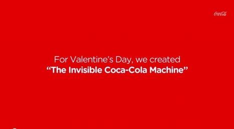 Street marketing original: Coca-Cola imagine un distributeur invisible | CREATIVTY & INNOVATION | Scoop.it