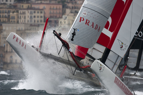Thrills, spills and close racing to open AC World Series in Naples | America's Cup-2013_AC34 | Scoop.it
