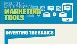 INFOGRAPHIC: The Evolution of Mobile Phones As Marketing Tools ...   WEBOLUTION!   Scoop.it