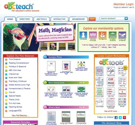 Free Printables, Interactives, Custom Documents, Clip Art, and Games | classroom tech for students and teachers | Scoop.it