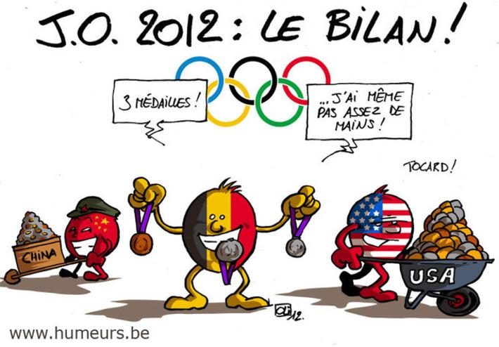 JO 2012 : quel bilan pour la Belgique ? | Baie d'humour | Scoop.it