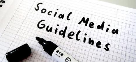 Guides de bonnes pratiques médias sociaux/Social media guidelines ! | Le Social Média | Scoop.it