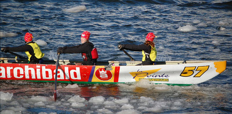 Life in Quebec » Hands on ice-canoe experience soon available for tourists | Le canot à glace - Ice canoeing | Scoop.it