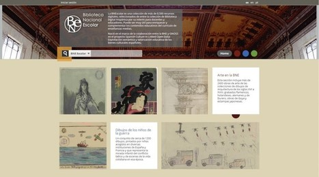 Arranca la BNEscolar, web de contenidos educativos para la enseñanza media « Actualidad Editorial | Educación | Scoop.it
