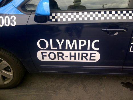 The Olympic Rings are Gone for Local Taxi Company | International Aspects of Publishing, Intellectual Property and the Law | Scoop.it