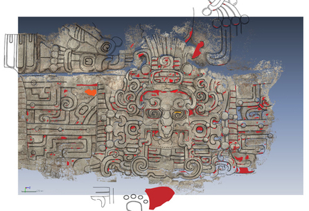 Maya 'sun' masks discovered at pyramid | Aux origines | Scoop.it