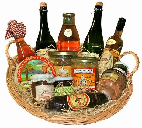 Produits du terroir normands: Choisissez un panier garni pour marquer une occasion spéciale | Paniers garnis | Scoop.it