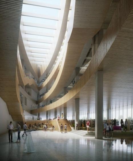 La future bibliothèque de Calgary, modèle d'espace et de design - Actualitté.com | Trucs de bibliothécaires | Scoop.it