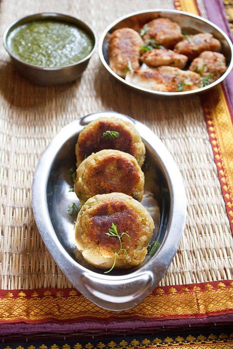 sweet potato tikki | navratri vrat recipe - Veg Recipes of India | Food Life Story | Scoop.it