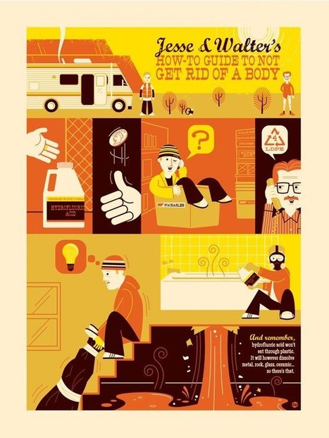 Love.. When Entertainment Marketing Is Art: See Work From The Breaking Bad Art Project | Tracking Transmedia | Scoop.it