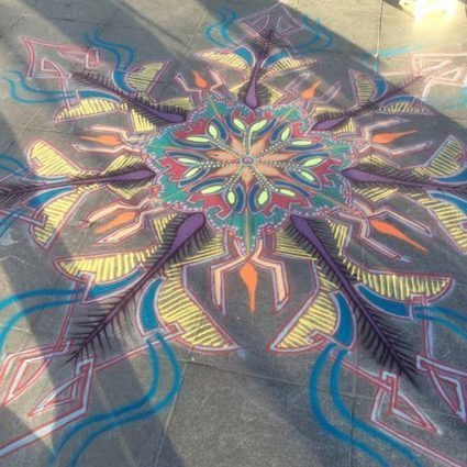 Sand Painting September 25th 2016 | Sand Paintings | Scoop.it