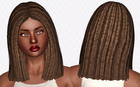 Nightcrawler Antoinette Dreads by Chantel Sims | Sims 3 Downloads | Scoop.it