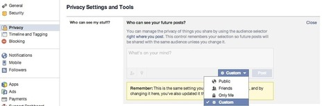 5 steps to protect your Facebook privacy in lieu of upcoming Graph Search changes | Life @ Work | Scoop.it