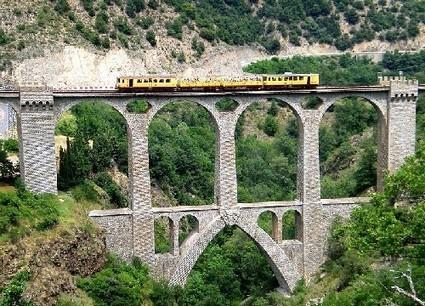 Le Train Jaune : un train touristique dans les Pyrénées catalanes | A visiter | Scoop.it