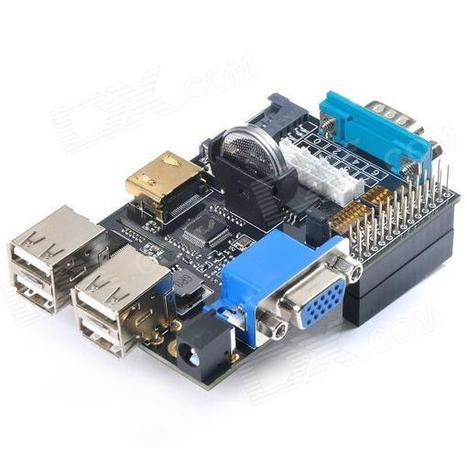 Expansion Board Made for Raspberry Pi - Multicolor + Black | Raspberry Pi | Scoop.it
