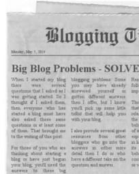 The BIG Blogging Problems – SOLVED! -   Digital Marketing   Scoop.it