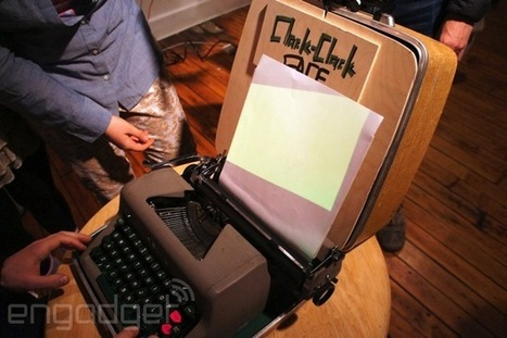 Clack-Clack FACE gives a typewriter new life as a text-based portrait painter - Engadget | ASCII Art | Scoop.it