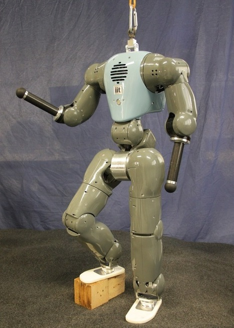 This Humanoid Robot Gets Pushed Around But Stays on Its Feet - IEEE Spectrum   Cybofree : Techno Social Issues for a Postmodern Transhuman Society   Scoop.it