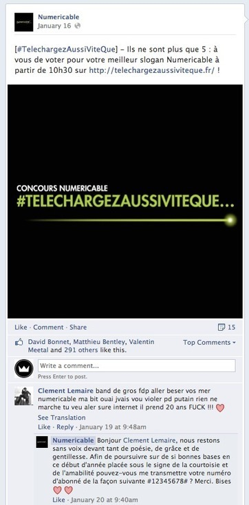 5 conseils pour gérer les commentaires négatifs sur les réseaux sociaux - Markentive | Going social | Scoop.it