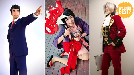 Don't Object to This Ace Attorney Cosplay | Cosplay News | Scoop.it
