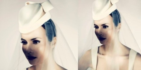 Perle ed inserti in lapin per i cappelli da sposa - Sfilate | fashion and runway - sfilate e moda | Scoop.it