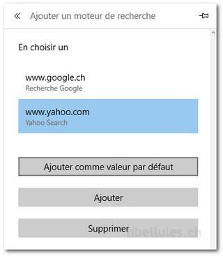 Comment modifier le moteur de recherche par défaut dans Microsoft Edge   Chroniques libelluliennes   Scoop.it