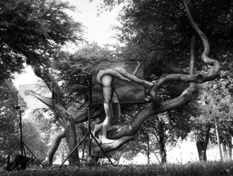 Paintings and Photos Merge to Form Perplexing Illusions - My Modern Metropolis | The brain and illusions | Scoop.it