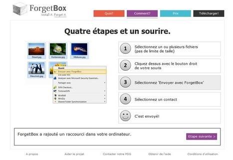 ForgetBox ou comment envoyer vos fichiers volumineux en 4 clics | Gestion de contenus, GED, workflows, ECM | Scoop.it