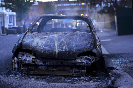 Afghan who helped torch car in London riots spared jail due to traumatic childhood - Telegraph   Race & Crime UK   Scoop.it