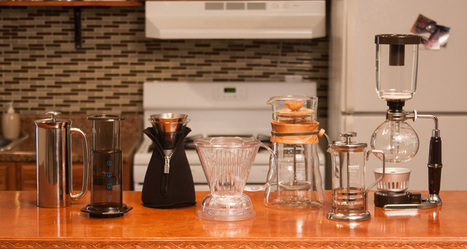 A Beginner's Guide to Immersion Coffee Brewing Methods and Equipment: French Press vs Cafe Solo vs Aeropress vs Siphon vs Clever Coffee Dripper | Café | Scoop.it