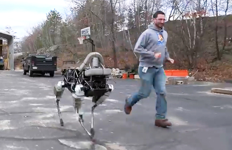 This New Four-Legged Robot Is Basically Invincible | Robotics | 21st Century Innovative Technologies and Developments as also discoveries, curiosity ( insolite)... | Scoop.it