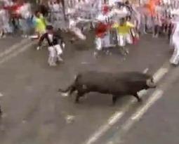 Pamplona, tragedia sfiorata alla corsa dei tori di San Firmino: 21 feriti | AboutBC - Cultura y Ciencia | Scoop.it