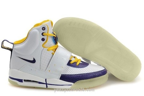 Nike Air Yeezy 1 White/Purple-Yellow [Yeezys-08] - $84.99 : | Cheap air yeezy for sale online | Scoop.it