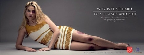 "Brilliant ad from Salvation Army uses ""The Dress"" in domestic violence PSA 
