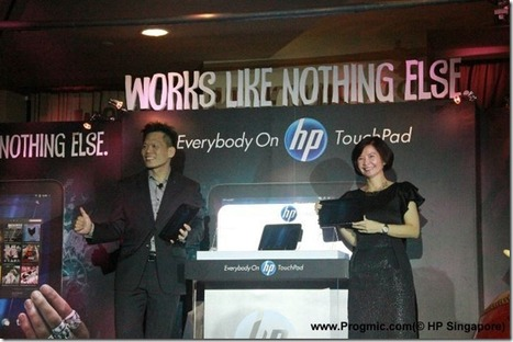 HP TouchPad Landed in Singapore [Event Pictures & Availability Details] | Progmic | openwebOS | Scoop.it
