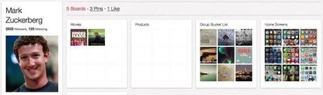 Facebook's Zuckerberg racks up followers on Pinterest - CNET (blog)   SocialMediaDesign   Scoop.it