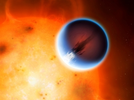 Scientists Discover 5400 mph Winds Battering Far Away Planet | Scientific Discovery | Scoop.it